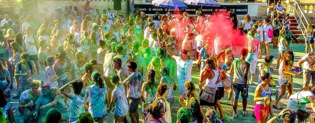 Holi Renkli Parti