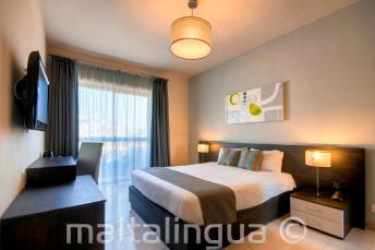 Argento otelinde konuk odası, Malta