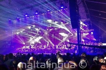 Malta'da Rockestra rock senfoni konserleri