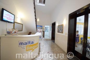 Malta İngilizce Dil Okulu resepsiyon