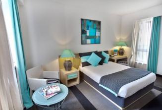 Hotel Juliani yatak odası, St Julians, Malta