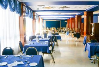 Okul rezidansinin restorani