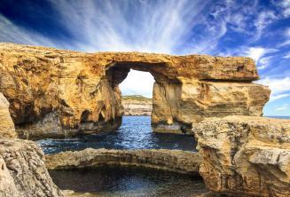 Gozo'daki Azure Pencere